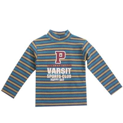 魔法Baby台灣製毛料半高領兒童長袖T恤 k42368