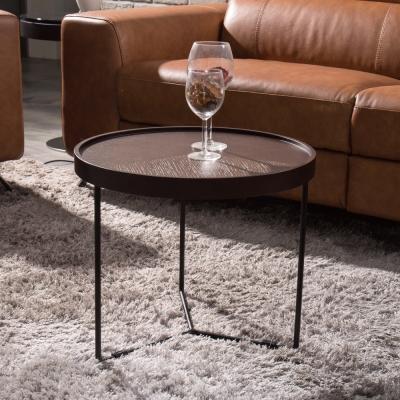 Hilker-布萊梅圓桌茶几-50x50x43cm