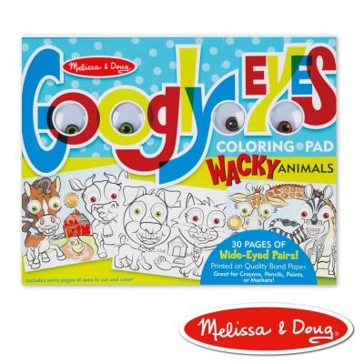美國瑪莉莎 Melissa & Doug 大眼睛趣味繪圖本 - 逗趣動物
