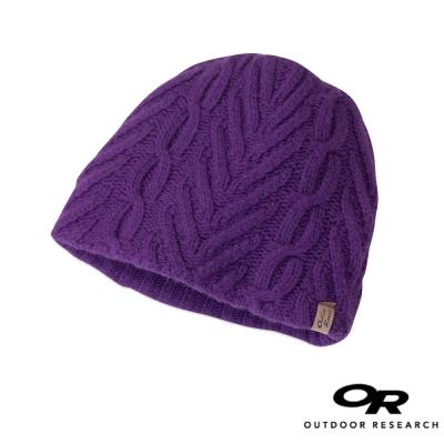 【美國 Outdoor Research】女新款 JULE 輕量透氣針織保暖帽_紫