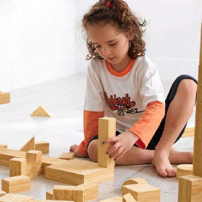 Weplay身體潛能開發系列【創意互動】軟質木紋積木組 30件組