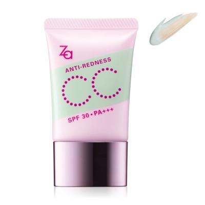 Za潤色光感CC霜(修飾泛紅肌膚) 30g