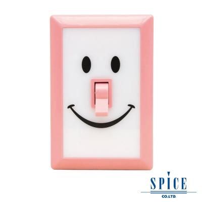 【SPICE】SMILE 桃粉色 微笑開關 LED 燈