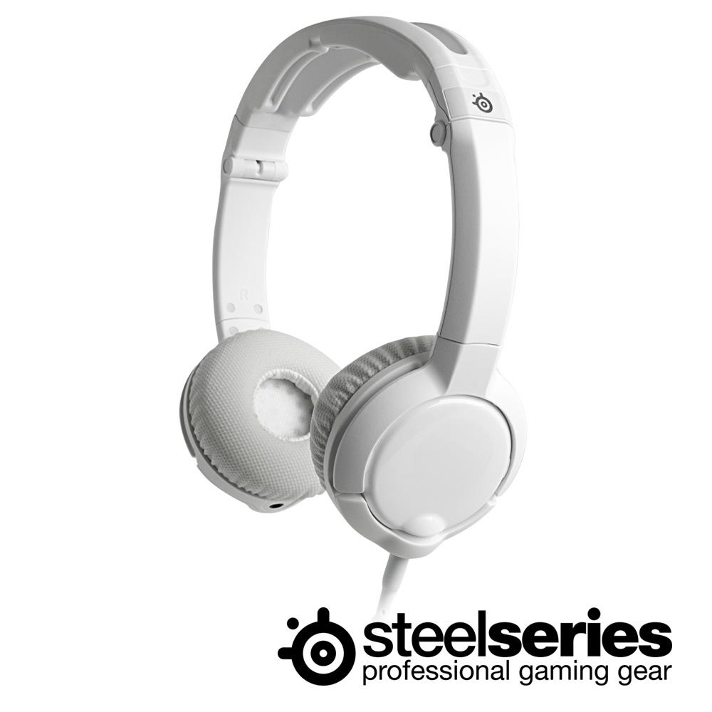 ★SteelSeries FLUX耳機麥克風(白)