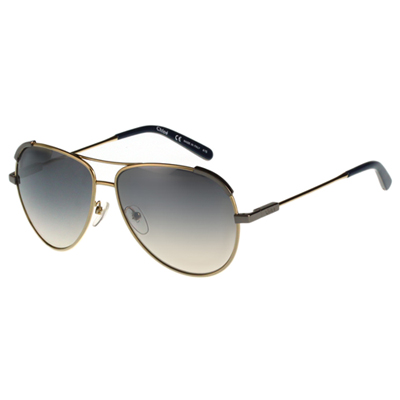 CHLOE太陽眼鏡 飛官造型(金色)CE118S