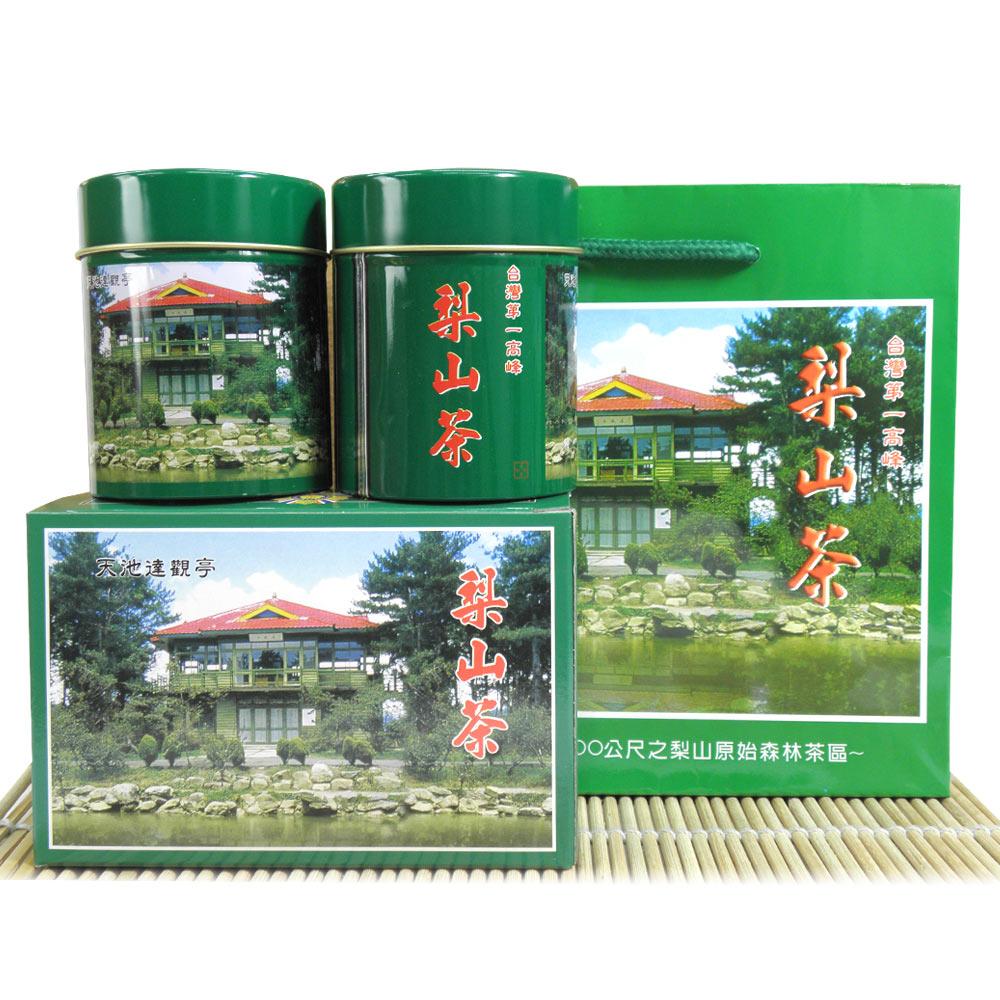 醒茶莊 嚴選梨山高冷茶禮盒150g(2組)