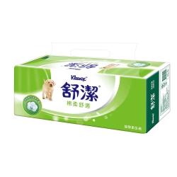 舒潔 棉柔舒適抽取衛生紙110抽12包x6串/箱