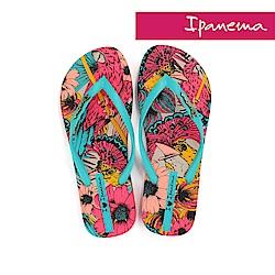 IPANEMA 熱帶動物園夾腳拖鞋-土耳其藍