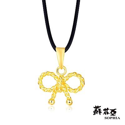 蘇菲亞SOPHIA - G LOVER系列幸運結黃金項鍊