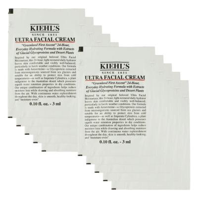 Kiehl's 契爾氏 冰河醣蛋白保濕霜3ml*10