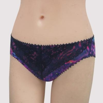 瑪登瑪朵 15AW-我罩妳無襯  低腰三角萊克褲 (華麗紫)