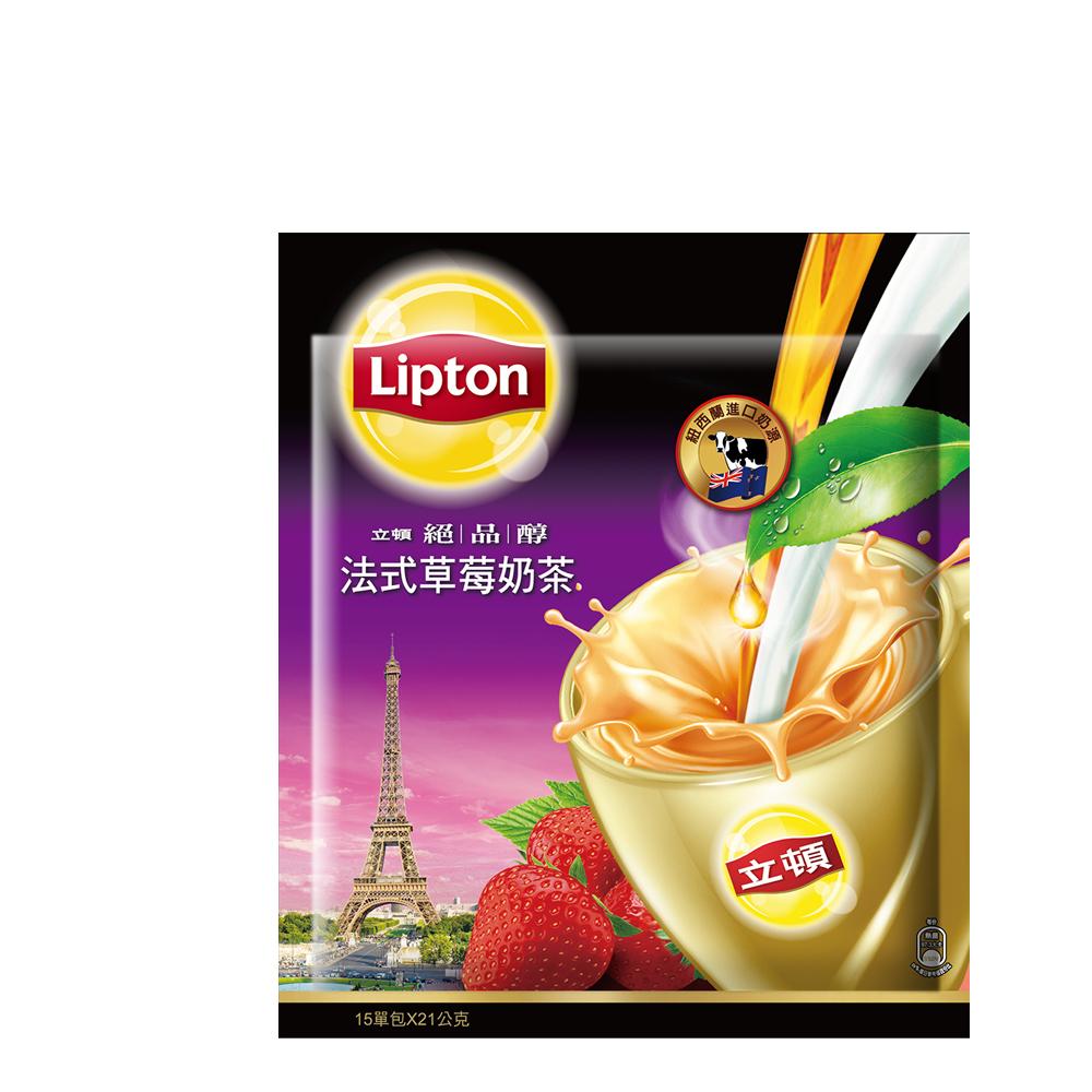 立頓 絕品醇法式草莓奶茶量販包(15入/包)