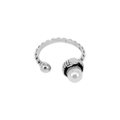 Ace-it-Boutique-純銀染黑不對稱珍珠