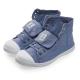 (女)Natural World 西班牙休閒鞋 高筒8孔綁帶基本款*藍色 product thumbnail 1