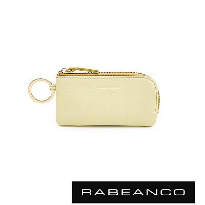 RABEANCO 迷時尚系列鑰匙零錢包 淡黃