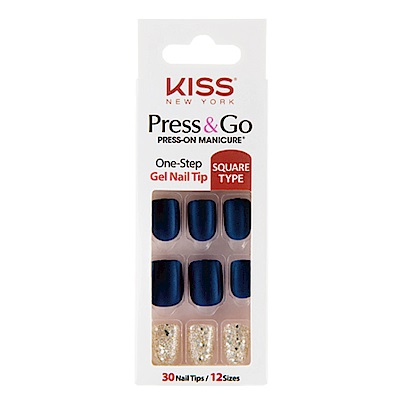 美國 KISS New York-指甲貼片(PNG07K悄悄話)