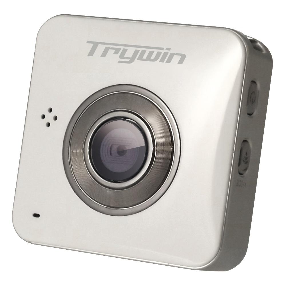 Trywin WD3 無線雲端行車紀錄器 - 珍珠白