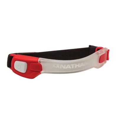 NATHAN LightBender 輕量防水LED手臂環 紅