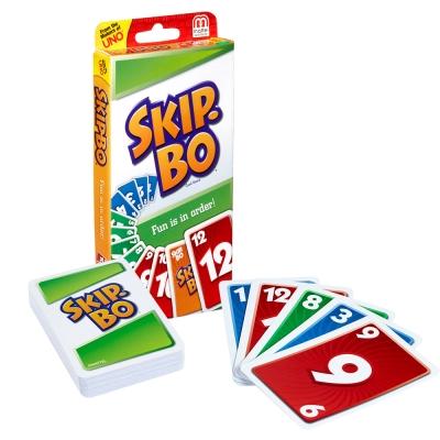 MATTEL Skip-Bo 遊戲卡(7Y+)