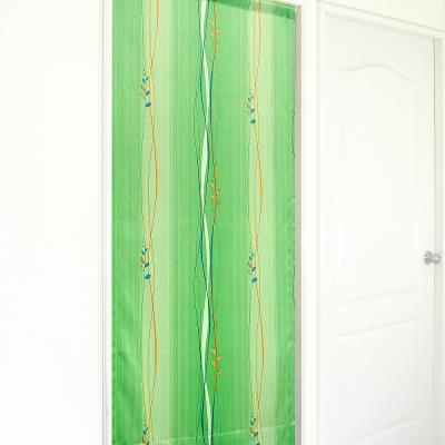 布安於室-斯拉密遮光風水簾-綠色