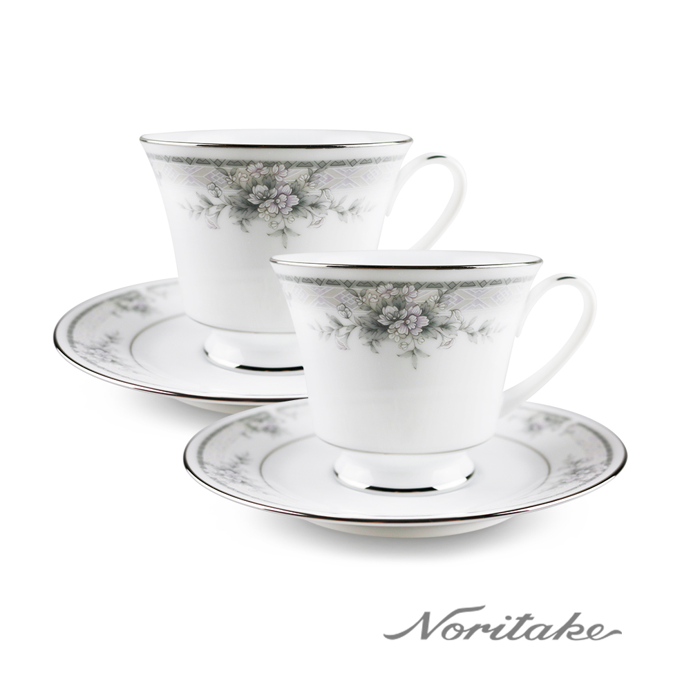 Noritake 天使花環對杯