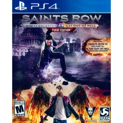 黑街聖徒 4:再次當選+逃出地獄 第一完整版 Saints Row IV -PS4英文美版