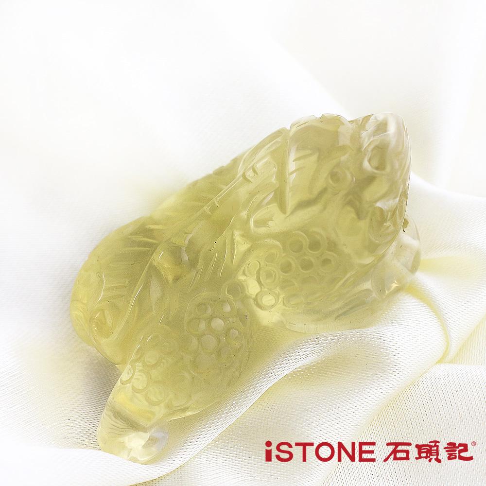 石頭記 黃水晶貔貅項鍊-極富納財27.5G