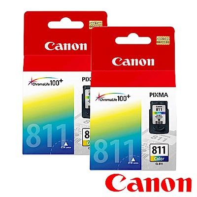 Canon CL-811? 原廠彩色墨水匣組合(2顆入)