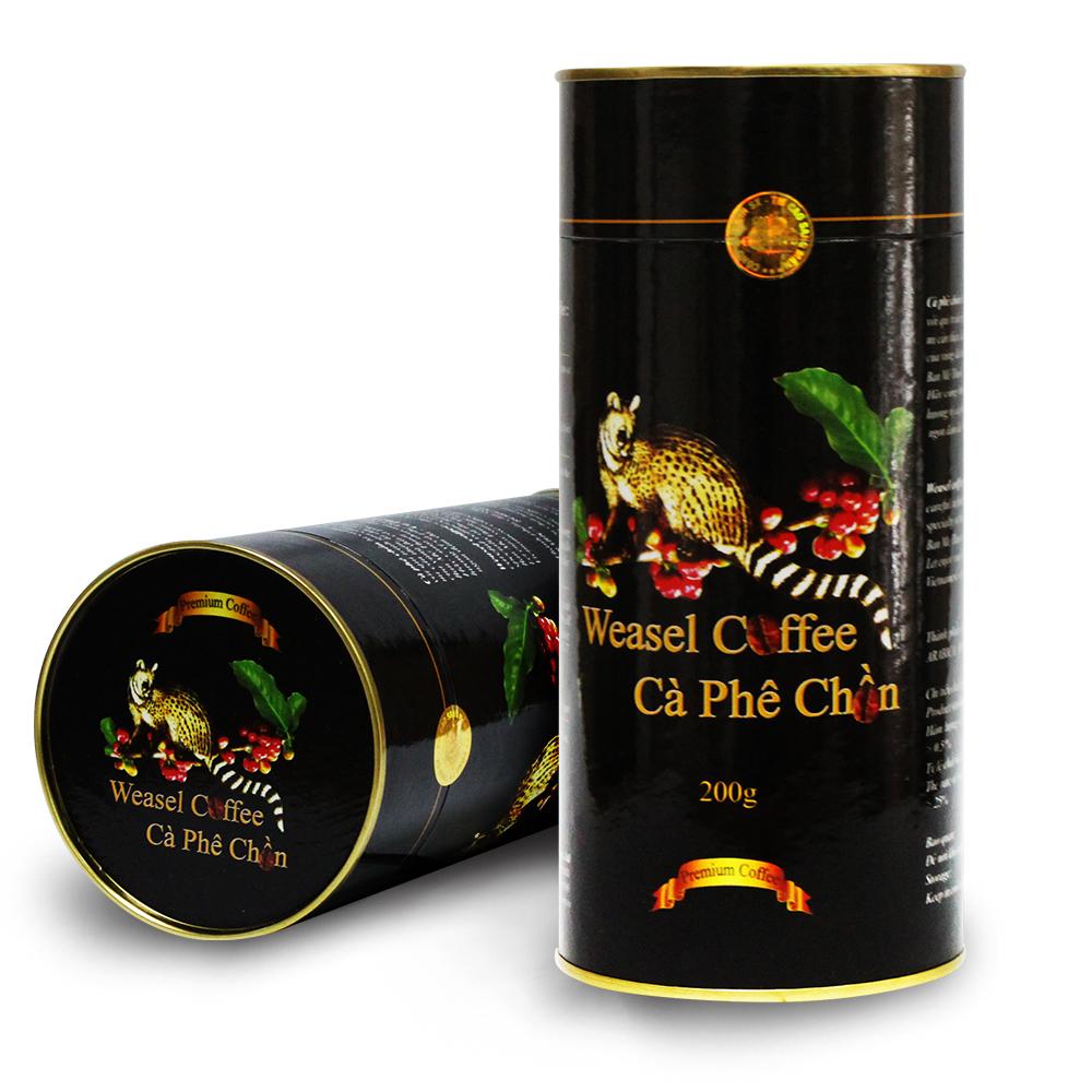 越南卡倫波COLUMPO貂咖啡豆(罐裝x2)