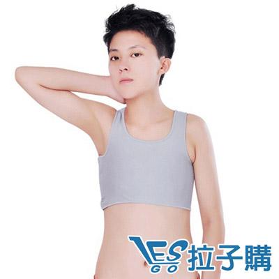 LESGO-束胸專賣超平加強型掛鉤半身束胸-灰