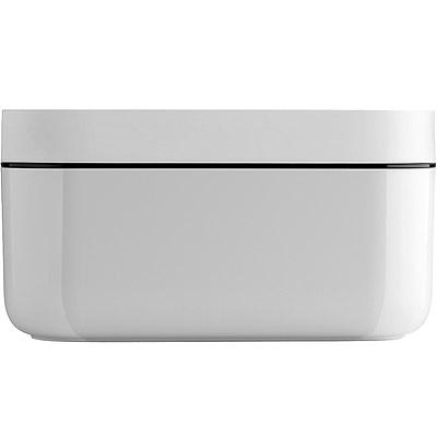 LEKUE 附蓋蜂巢製冰盒(白)