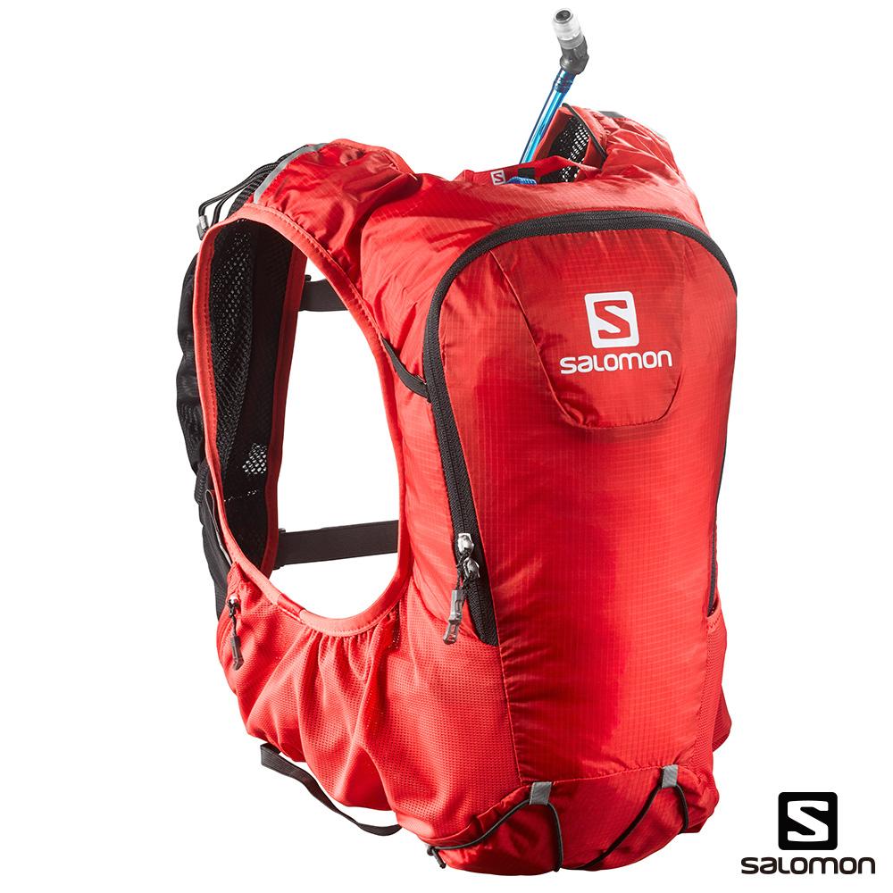 SALOMON SKIN PRO 10 水袋背包組 亮紅/黑