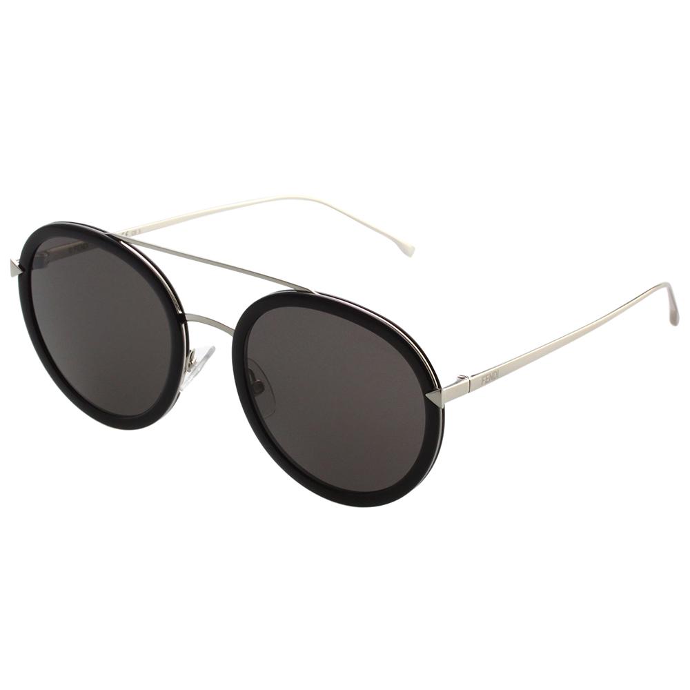 FENDI  雷朋造型 太陽眼鏡 (黑配銀)FF0156S
