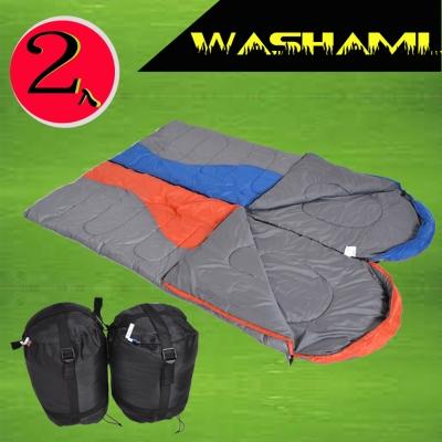 WASHAMl-征服者信封睡袋可併接(A款)(2入)