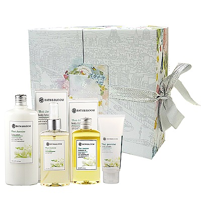 Bath & Bloom 茉莉繽紛花漾禮盒(母親節限定)
