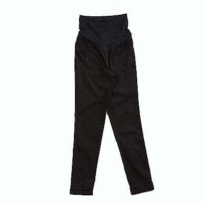 ohoh-mini 歐歐咪妮 吸濕排汗顯瘦素色縮口長褲