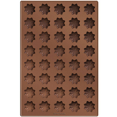 TESCOMA  40 格矽膠星型餅乾烤盤( 32 cm)