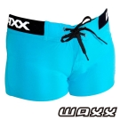 WAXX 經典款高質感吸濕排汗女性海灘短褲(藍色)