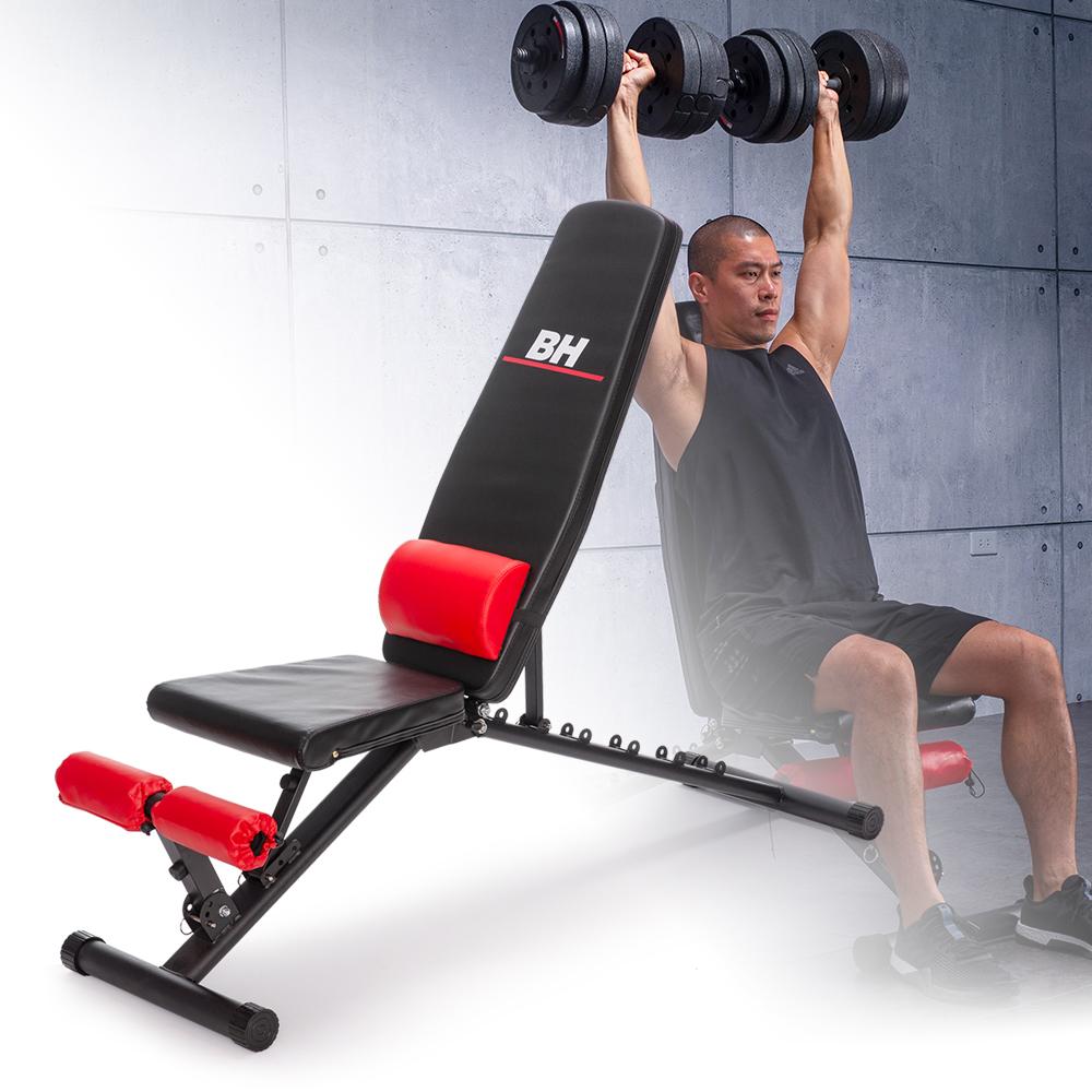 【BH】L86多功能重訓椅.舉重床