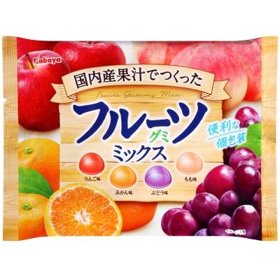 Kabaya卡巴 綜合水果軟糖(160g)