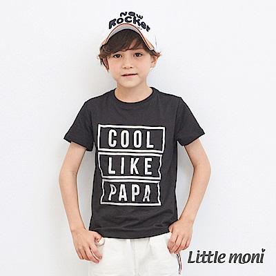 Little moni 印圖棉T (2色可選)