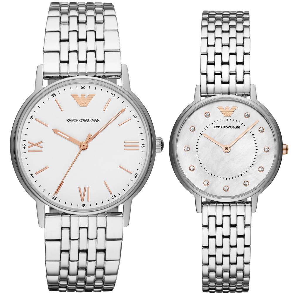 Armani  相遇時分時尚對錶(AR80014)41+32mm