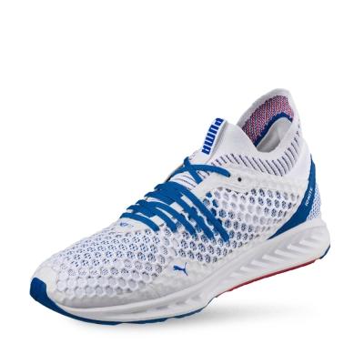 PUMA-IGNITE NETFIT 男性慢跑運動鞋-白色