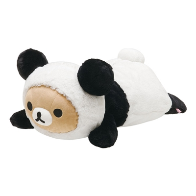 拉拉熊我愛大貓熊系列抱枕公仔。懶熊