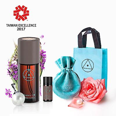 【珍寵呵護養髮組】shan善 柳蘭養髮液 +大東山貝寶珠(市價1770)+茶花護髮油包包瓶+善袋