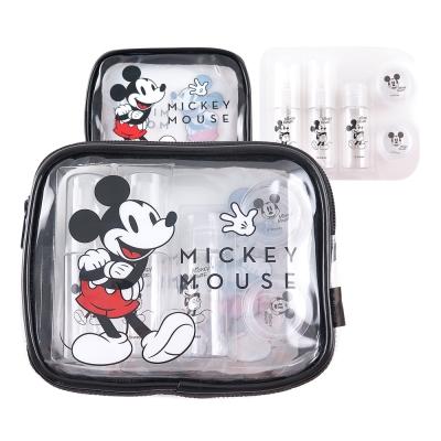 Disney迪士尼旅行瓶罐盥洗化妝萬用米奇包組