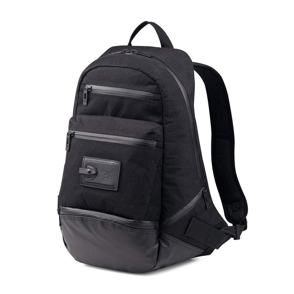 PORTER - 城市探險VENTURE高機能型格後背包 - 黑