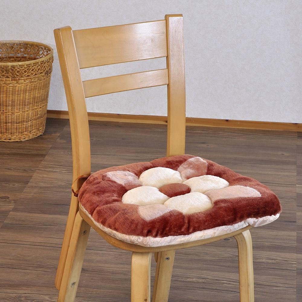 【格藍傢飾】花兒餐椅墊4入(紅色)