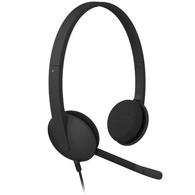 羅技USB耳機麥克風H340