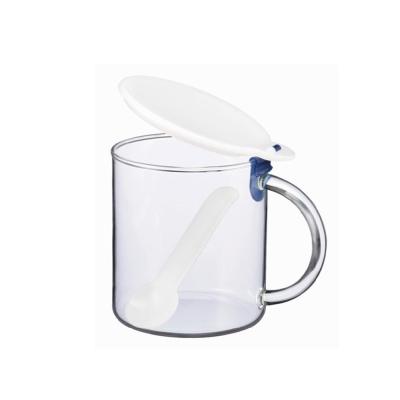 【iwaki】耐熱玻璃調味罐 500ml(鹽)